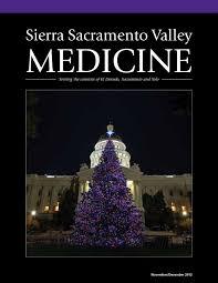 Silver Tip Christmas Tree Sacramento by November December 2012 By Sierra Sacramento Valley Medical Society