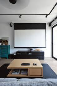 beamer im wohnzimmer integrieren ideen für ein
