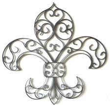 Cheap Fleur De Lis Cabinet Knobs by Tuscan Wrought Iron Fleur De Lis Wall Plaque Traditional Metal