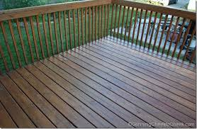 sunshine means deck staining grinning cheek to cheek