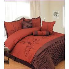 Brown and orange forter set Blankets Pinterest