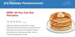 Ihop Halloween Free Pancakes 2014 by Ihop Never Ending Pancakes Are Back Through February 9th