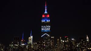 Empire State Building lights up on election night CNN Video