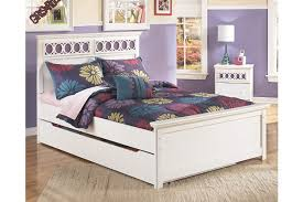 zayley full panel bed with storage ashley furniture homestore