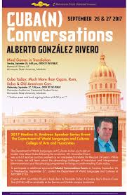 Sept. 26-27: Cuba(n) Conversations With Alberto González Rivero ... Events Midge Bubany Author Welcome Week 2017 Schedule Maverick Minnesota Intertional Festival State University Mankato Barnsie Hashtag On Twitter Good Thunder Stores Bargains Amazon Buying Whole Foods In 137b Deal News Mankatofepresscom Raising Phoenix Photo Tour And North Bnwchester Learning Communities At Home Facebook