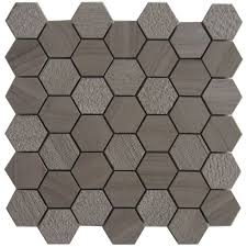 American Olean Mosaic Tile Canada by Athens Grey Marble Trinity Hex 12x12 U201dx10mm Mosaic Tile Athens