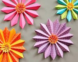 How To Make Paper Crafting Pretty Flower Crafts Tutorials Ideas And Flowers