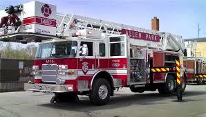 100 Firefighter Trucks Allen Park Fire Department Truck 561 Things That Go Fast Fire