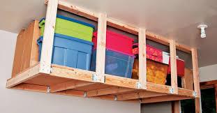 overhead garage storage racks Overhead Garage Storage Good News