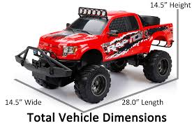 100 Rc Pickup Truck New Bright RC 16 Scale Ford Raptor Walmartcom