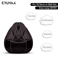 Eyuvaa Brown 3XL Bean Bag Cover | Extra Large Leatherette Chair For ... Bean Bag Chairspagesepsitename Kids Bean Bags King Kahuna Beanbags Reading Lounge Chair Pink Target Bag Gardenloungechairs Thunderx3 Db5 Series Gaming Beanbag Cover Temple Webster Fascating Nook Ideas For Renohoodcom Hibagz Review Cheap Gamerchairsuk Chairs White Large Tough And Textured Outdoor Bags Tlmoda Giant Huge Extra Add A Little Kidfriendly Seating To Your Childs Bedroom Or