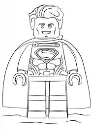 Click To See Printable Version Of Lego Superman Coloring Page
