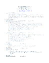 Nursing Resume Summary Examples