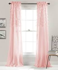 Pink Ruffled Window Curtains by 7 Tiered Ruffle Curtain Panel Ruffled Curtains Ruffles And Room