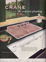 1951 Pink Kitchen Sink By Crane I LOVE The Mid Century Ads They