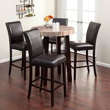 Chairs. Counter Height Pub Table Set: Dining Room Mini St ...