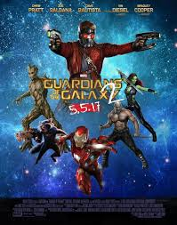 Guardians Of The Galaxy Vol2 Movie Poster By ArkhamNatic