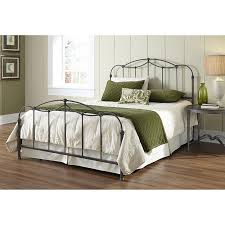 Macys Metal Headboards by Amazon Com Affinity Complete Bed With Metal Spindle Panels And