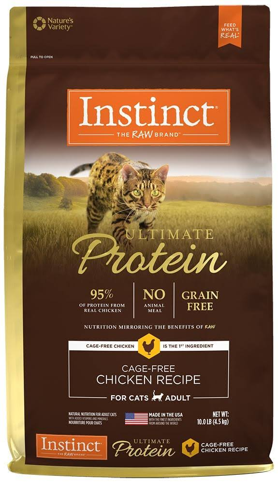 Natures Variety Instinct Ultimate Protein Chicken Recipe Cat Food - 4lbs