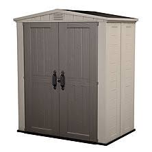 Suncast Resin Glidetop Outdoor Storage Shed Bms4900 by Plastic Storage Sheds U0026 Resin Storage Sheds Sam U0027s Club