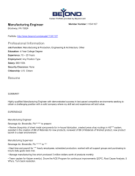Resume - Beyond.com Industrial Eeering Resume Yuparmagdaleneprojectorg Manufacturing Resume Templates Examples 30 Entry Level Mechanical Engineer Monster Eeering Sample For A Mplates 2019 Free Download Objective Beautiful Rsum Mario Bollini Lead Samples Velvet Jobs Awesome Atclgrain 87 Cute Photograph Of Skills Best Fashion Production Manager Bakery Critique Of Entrylevel Forged In