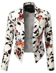 open front floral blazer jacket floral blazer blazer jacket and
