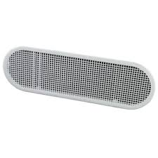 Bathroom Fan Soffit Vent Home Depot by Master Flow 4 In X 12 In High Impact Resin Soffit Vent In White