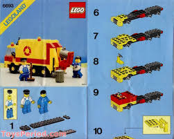 100 Lego Recycling Truck LEGO 6693 Refuse Collection Set Parts Inventory And