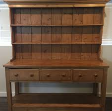 Antique John Widdicomb Dresser by Large Antique Pine English Pot Board Dresser Cupboard Kitchen