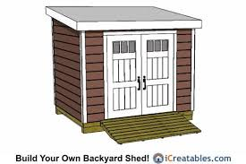 8x10 lean to shed plans 8x10 shed plans pinterest