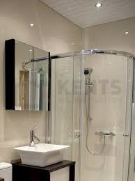 Geo Shower Panels by Small Tile Brown 7mm Geopanel Cladding 600x2400 2 Pack