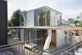 100 Small House Japan Teppei Fujiwaras GlassClad In Tokyo