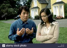 100 The Madalion JACKIE CHAN CHRISTY CHUNG THE MEDALLION 2003 Stock Photo