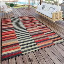paco home teppich artigo 408 rund 4 mm höhe in und outdoor geeignet vintage design wohnzimmer