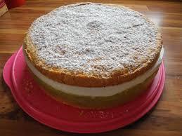 kuchen torte rhabarber joghurt