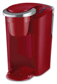 Keurig K Compact Coffee Maker Single Serve One Cup Small Space Saving Dorm Red