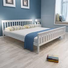 6FT Super King Size Solid Pinewood Bed Frame Plywood Slats Bedroom