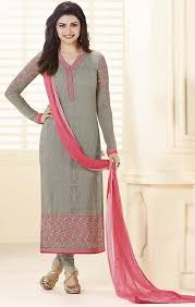 Buy Pakistani Dress Design Long Kameez Straight Cut Suits Bollywood Fashion