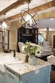 best 25 rustic kitchen lighting ideas on within island