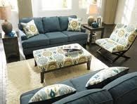 Teal Living Room Set by Ashley Janley Living Room Set In Slate Masters Buy Or Lease
