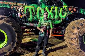 100 Monster Truck Driver Toxic Official Site Of The Toxic