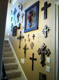 Beautiful Ideas Wall Cross Decor Horseshoe Celtic Art Rustic Collage Iron Turquoise Gold
