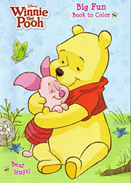 4pk Disneys Winnie The Pooh Coloring Book 96 Page Each