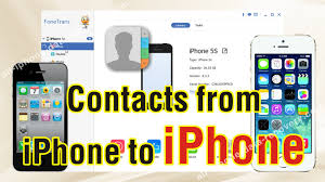 How to Transfer Contacts from Old iPhone to New iPhone 7 6S Plus