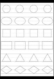 Preschool Basic Shapes Superior Math Worksheet