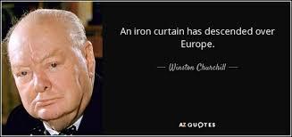 Winston Churchill Delivers Iron Curtain Speech Definition by Winston Churchill Iron Curtain Centerfordemocracy Org