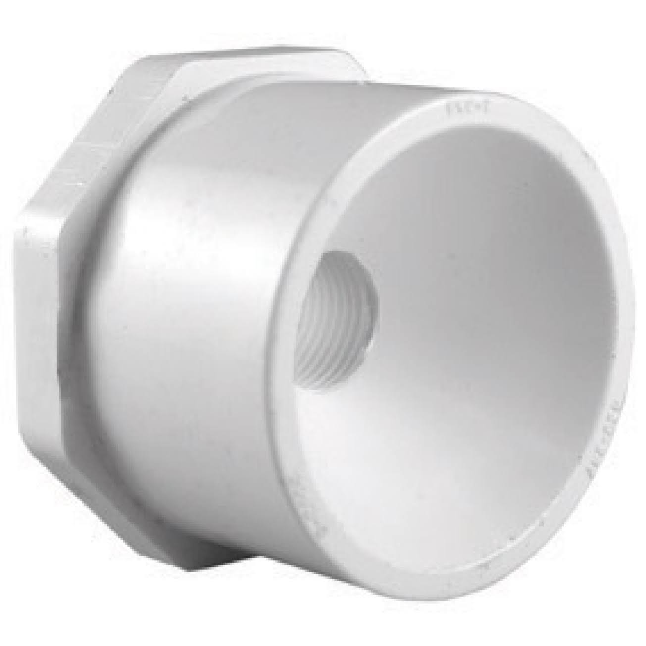 "Charlotte Pipe PVC Schedule 40 Reducer Bushing - 1-1/4"" x 3/4"""