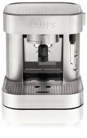KRUPS XP601050 Manual Pump Espresso Machine With Thermoblock System