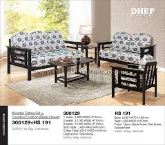 Wooden Sofa Design In Bangladesh Dumbfound Settee Set With Cushion View Home Ideas 13