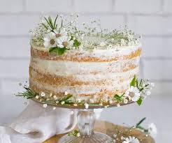 Naked Baby s Breath Cake Made with Buttercream Frosting with Fresh Flowers Lemon Pound Cake or Carrot Cake $35 6 inch $49 9 inch Hand written text